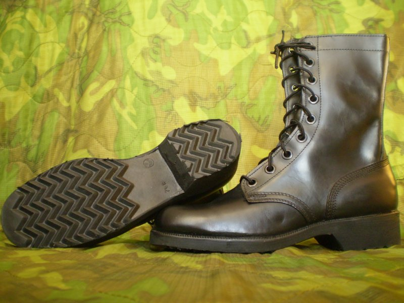 combat leather boots,DMS sole,1967