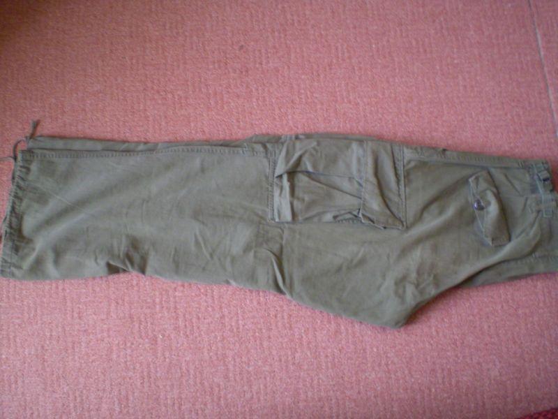 kalhoty TCU 3.model,rip-stop poplin