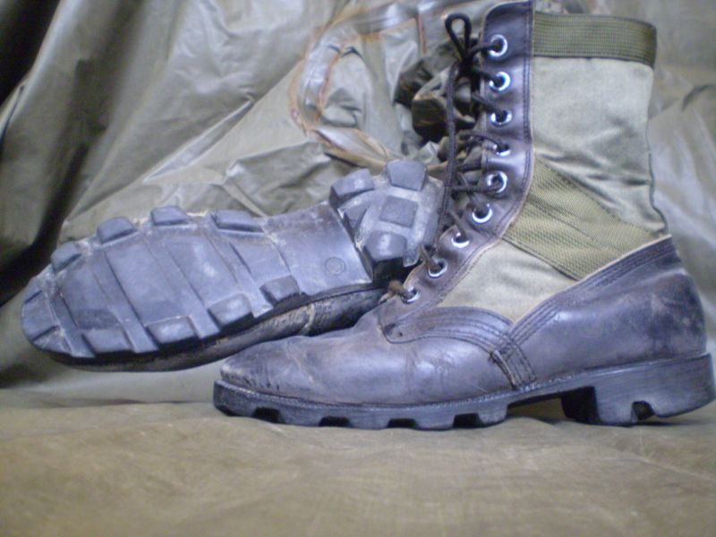 jungle boots,panama sole