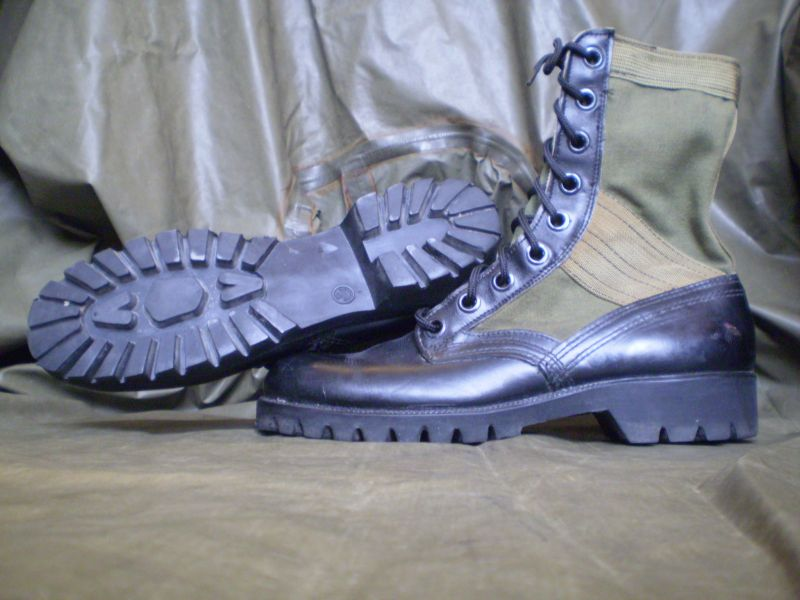 jungle boots,vibram sole